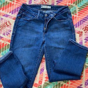 Levi Jeans mid rise skinny